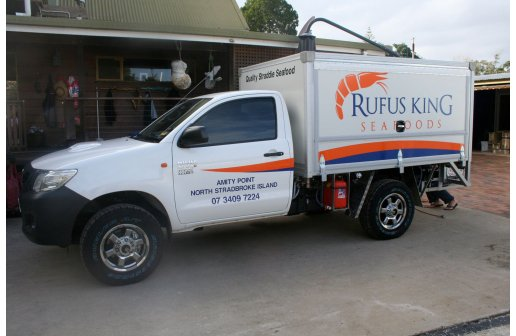 Customised refrigerated ute
