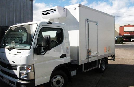 BajAir installed refrigerated truck body